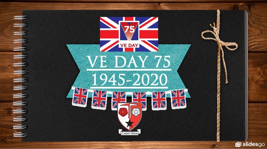 Audenshaw School celebrates VE Day.