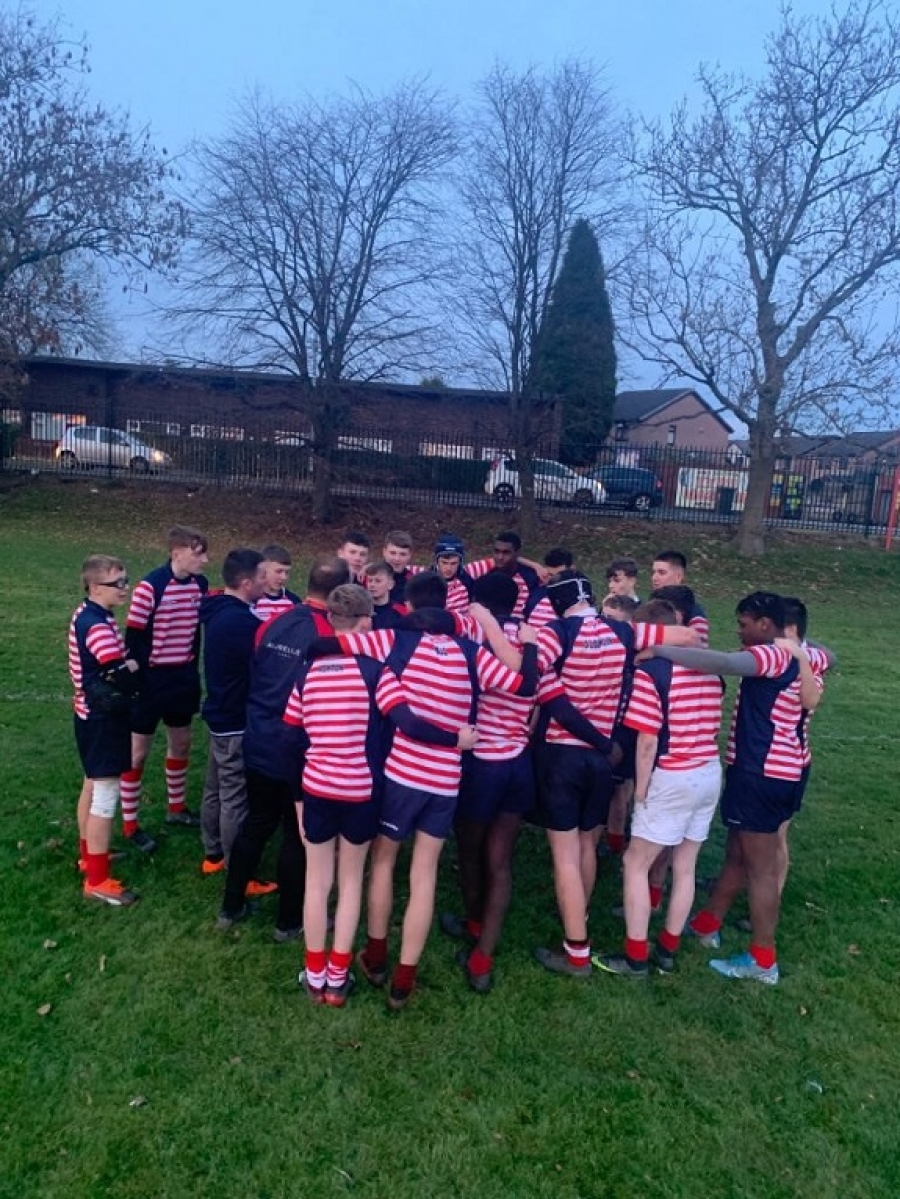U15 Rugby Team progress to last 32 In RFU Schools National Plate.